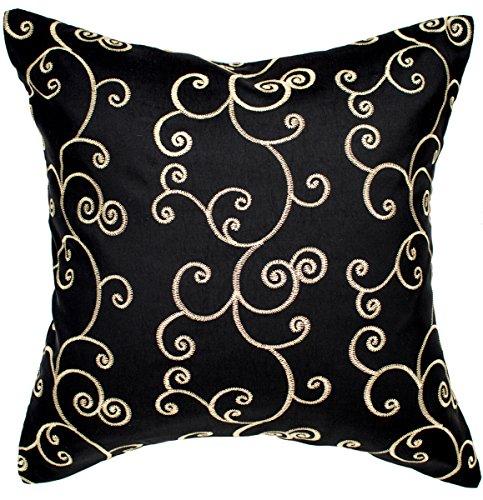 Avarada Solid Spiral Throw Pillow Cover Decorative Sofa