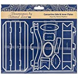 Create and Craft Metal Tattered Lace Die Panorama Concertina Sides and Inner Plates