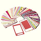 Polaroid Originals PL-2X3FRS Colorful, Fun & Decorative Photo Border Stickers For 2x3 Photo Paper Projects (Mint, Snap, Zip, Z2300) - Pack of 100 (Tamaño: 100 Sticker Frames)