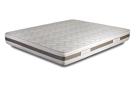 Federkern Matratze orthopädische mit Stahlfedern und antiallergisch Bezug h21 - 180X200 | Bonnel