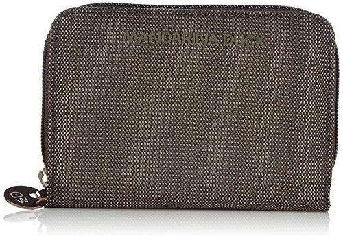 Mandarina Duck - Md20 Portafoglio Pirite, Portafoglio da donna, grigio (frost gray), 2x10x14 cm (B x H x T)