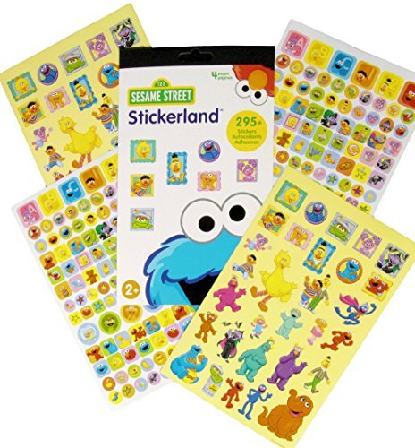 Sesame Street Reward Stickers - 295 Stickers! - 1