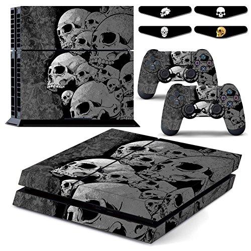 Sticker Decal Vampire Skull vinile impermeabile PS4 Skin Designer per Playstation 4 console di sistema e PS4 Wireless Dualshock controller