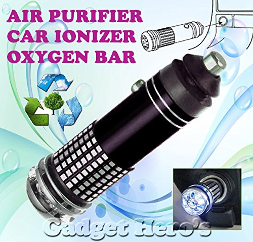 Gadget Hero's Mini Car Auto Ionizer Fresh Air Purifier (40 g)