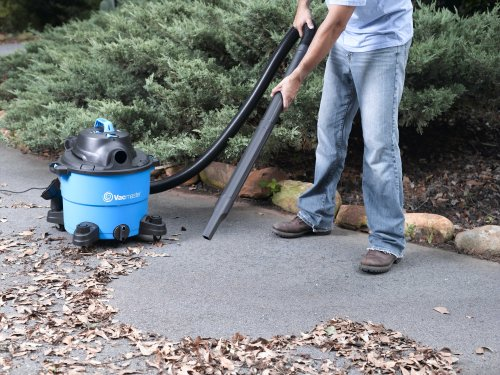 Vacmaster VJ809 8-Gallon 4 HP Wet/Dry Vacuum