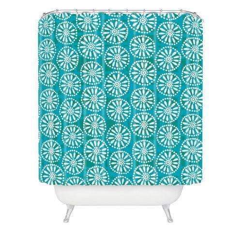 Deny Designs Zoe Wodarz Daisy Plaid Shower Curtain front-390750