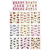 Water Stickers France Style Nail Art Decorations Tools DIY Beauty