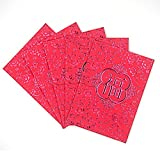 KI Store 38pcs Red Envelopes for Chinese New Year, Wedding, Festival Decor - Red Blessing