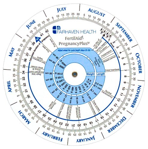 Pregnancy Wheel and Ovulation Calendar
