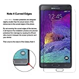 (2 Pack) Galaxy Note 4 Screen Protector,Vinso Tech Samsung Galaxy Note 4 Tempered Glass Screen Protector,0.26mm 9H Hardness Featuring Anti-Scratch,Lifetime Warranty