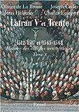Les conciles de Latran V et de Trente 1512-1517 et 1545-1548 : Première partie