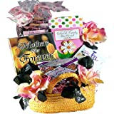 Art of Appreciation Gift Baskets   Sweetest Mom Tea and Snacks Tote