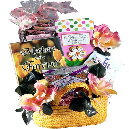 Art of Appreciation Gift Baskets Sweetest Mom Tea & Snacks Gift Tote