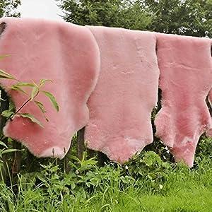 Lammfell hell rosa 100110 cm    Kundenbewertung: