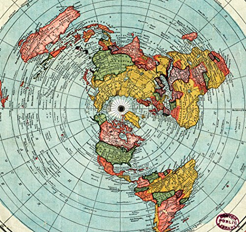 flat map of earth - photo #29