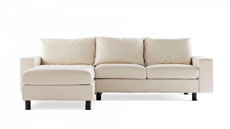 Stressless® E200 2-Sitzer mit Longseat Luxusgarnitur Ecksofa Weiß günstig online kaufen