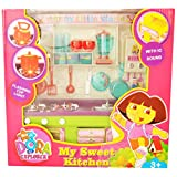 Zest4Toyz Kitchen Set With Light And Melody For Kids.