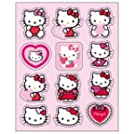 hello kitty rot Les stickers en 3D &quot;H...
