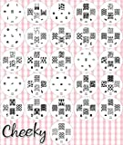 Summer collection 2012 Stamping Nail Art Kit / Set d'accessoires pour manucure / pedicure pour d�co d'ongles par Cheeky: Eventail de 26 plaques d'images pour un total de 161 pochoirs. Rapport prix / quantit� imbattable!
