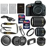 Nikon D5500 Camera + Nikon DX 18-55mm...