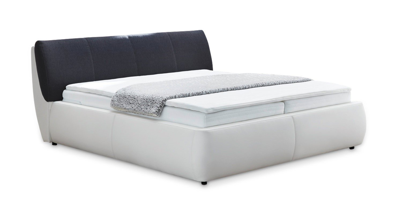 Boxspringbett Doppelbett weiß 180 cm x 200 cm Pita 1 online kaufen