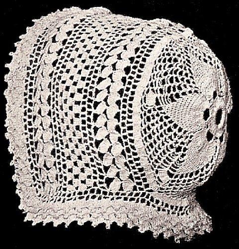 Crochet Baby Bonnets