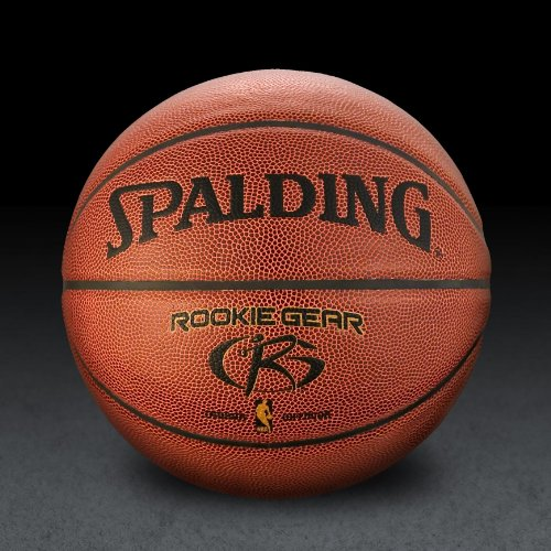 Spalding NBA Rookie Gear Composite Basketball - Brown - Size 27.5