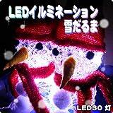 「雪だるま LEDイルミネーション」