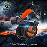 Letton G7 Gaming Headset Headphones with Microphone for PlayStation4 PS4 XBox One PC Mac