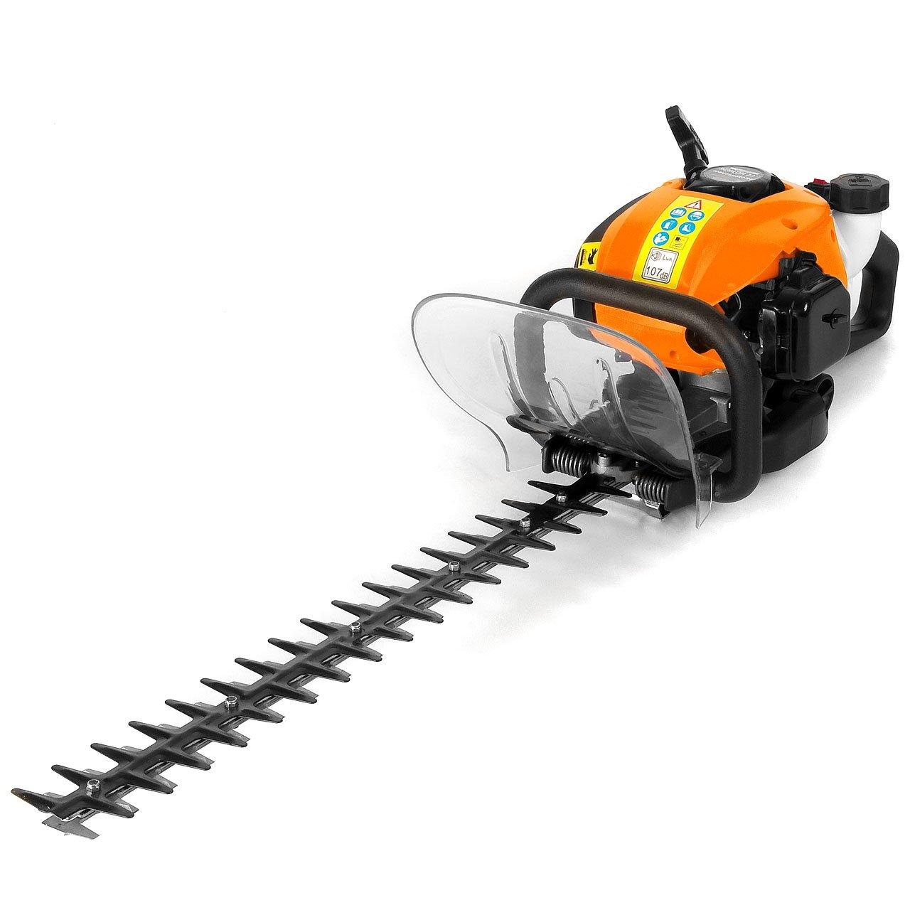 Rotfuchs® 1,22 PS Benzin Heckenschere HDTR26 Orange mit 25,4 ccm, 55cm Schwertlänge  GartenKundenbewertung und Beschreibung