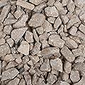12 x 1kg Bags Of Decorative Garden Patio Gravel Stones - Brown