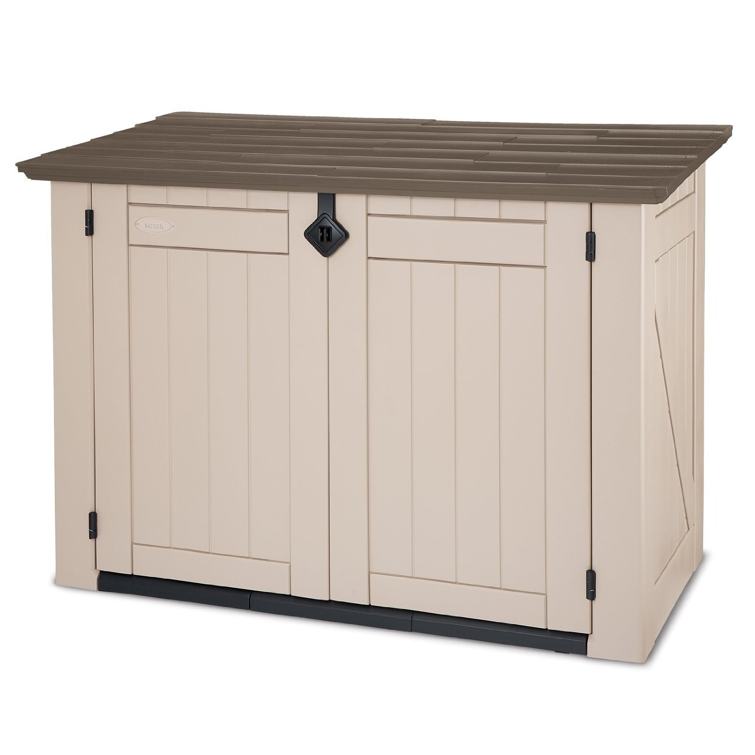 new keter xl store it out garden storage unit shade patio box outdoor