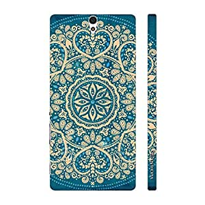 Enthopia Designer Hardshell Case Motif Pattern Back Cover for Sony Xperia C5