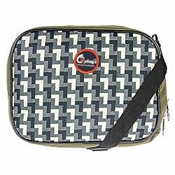 JG Shoppe White Polyester Lunch Bag