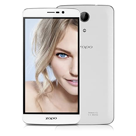 ZOPO Speed 7 Plus 4G Smartphone 5.5'' Ecran FHD 1080P Android 5.1 Lollipop Téphone Portable débloqué Dual SIM 3Go RAM 16Go ROM Caméra 13MP - HotKnot Smart Wake OTA OTG - Blanc