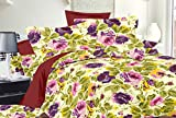 Trance Duvet Cover Queen Printed Floral with 2 pillow covers