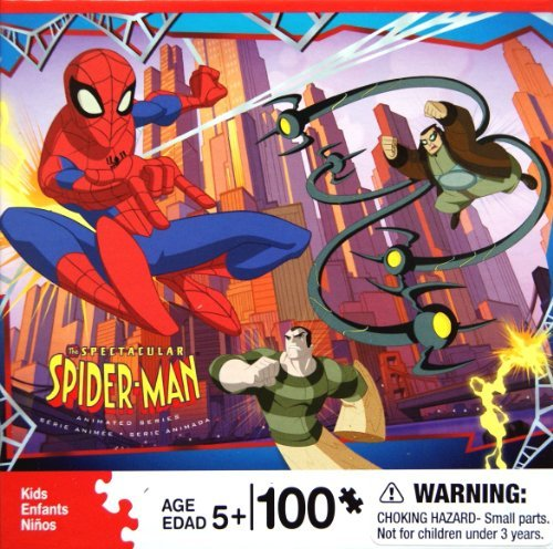 The SPECTACULAR SPIDER-MAN Puzzle 100 Piece Series 1 - 1