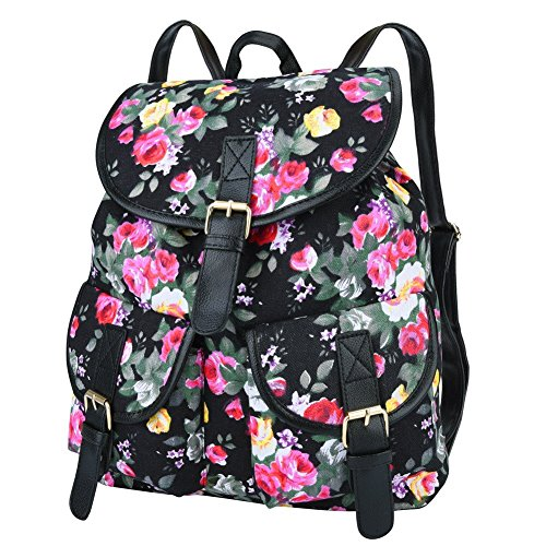 Canvas Backpack for Girls