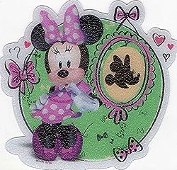 Disney Minnie Mouse 5 Non-slip Tub Treads Approx 4