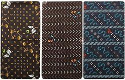BEENA Men's Cotton Lungi Combo of 3 (Multi-Coloured, 2 Meters)