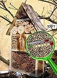 Große Nistkästen XXL Insekten Insektenhotel LOTUS