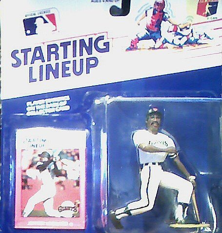 Jeffrey Leonard Action Figure - San Francisco Giants Uniform - 1988 Major League Baseball Starting Lineup Series