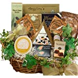 Art of Appreciation Gift Baskets Savory Sophisticated Gourmet Food Gift Basket with Caviar, Large