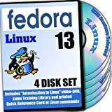 Fedora 13, 4-disks DVD Installation and Reference Set