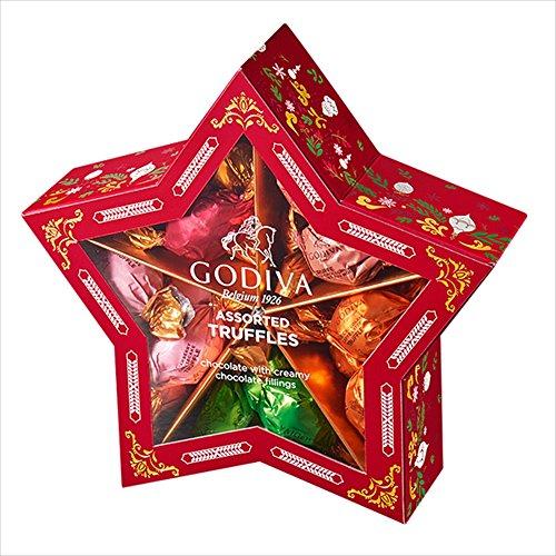 ゴディバ(GODIVA)ラッピングチョコレート クリスマス スター 20粒
