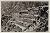 1931 Peruvian Inca Fortress Ruin Cusco Peru Archaeology - Original Photogravure