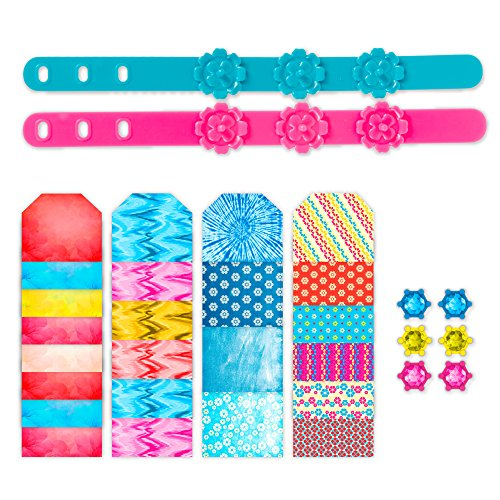 RoseArt Fashion Flower Creations Design Set, Boho Bracelets