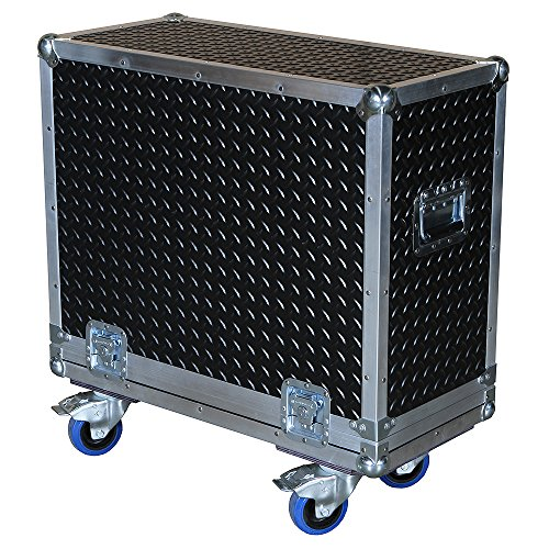"Amplifier 3/8"" ATA Case w/Diamond Plate Rubberized Hard Laminate fits Hughes & Kettner Tube 50 Amp - Does Your Amp Fit?"