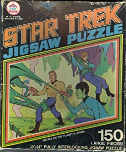 Star Trek Jigsaw Puzzle: Battle on the Planet Klingon
