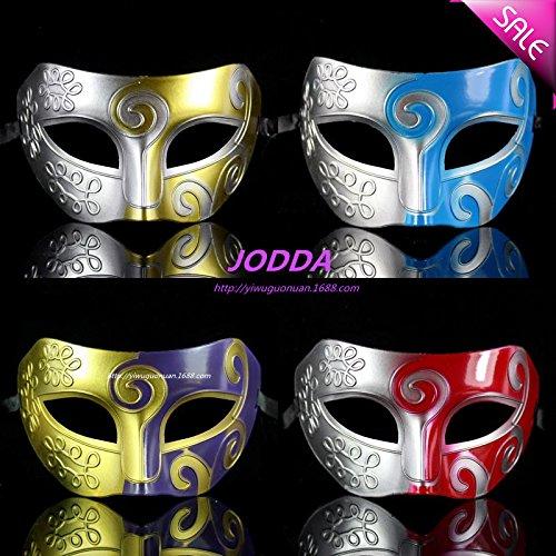 espectaculos-de-danza-de-media-cara-pintura-mascara-principe-baron-enmascaran-antiguedades-mascara-g